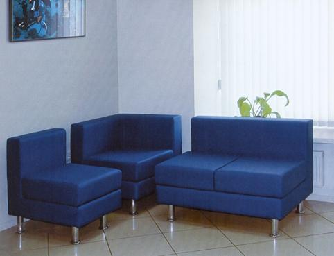 Угловой диван для офиса